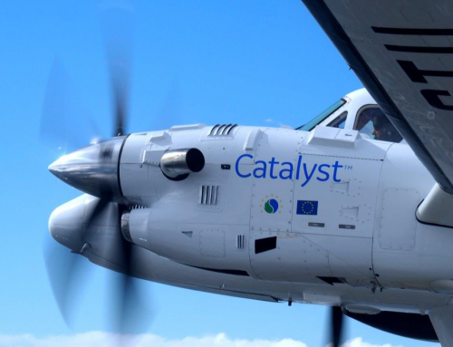 The Catalyst™ turboprop engine completes first flight